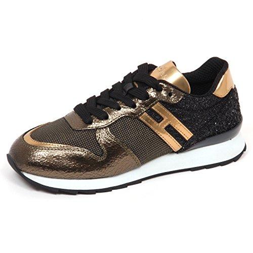 Nero Nero Oro E4830 Woman R261 oro Hogan Shoe Glitter Sneaker Scarpe Donna vgRwxFq