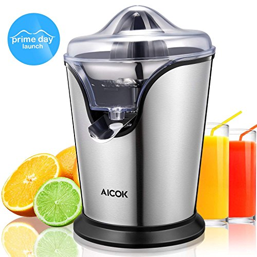 Aicok Citrus Juicer Electric Brushed Stainless ...