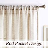 West Lake Sheer Curtain Color Block and Stripe