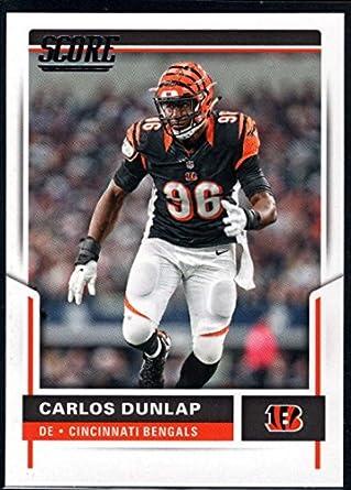 Amazon Com 2017 Score 42 Carlos Dunlap Cincinnati Bengals Football