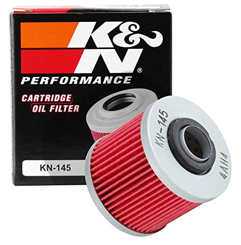 KN-145 K&N Performance Oil Filter; POWERSPORTS CARTRIDGE (Powersports Oil Filters):