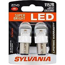 SYLVANIA ZEVO 1157 Red LED Bulb, (Contains 2 Bulbs)