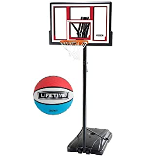 Lifetime 1531 Complete Portable Basketball Hoop