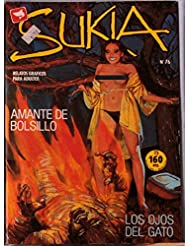 Sukia Sexy Vampire-Zombie Comics, number number76 Sexy Pulp Horror Adult Comics Evilfrance, Fumetti Adult Italian Style Damsels in Distress Vintage 1980s Spanish
