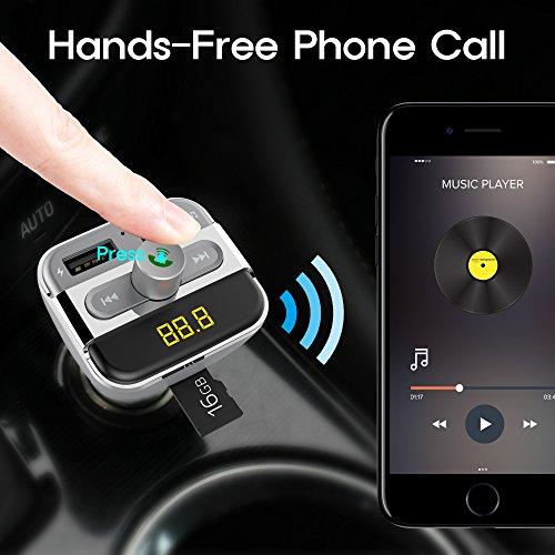 Bluetooth Transmitter Wireless Adapter Hands free