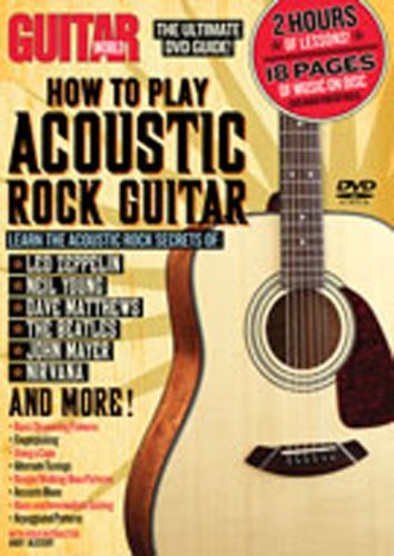 Guitar World: How to Play Acoustic Rock (Play Acoustic Rock)