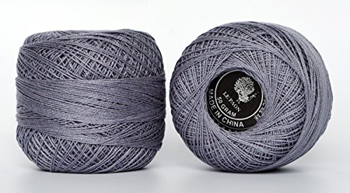 Hot sell and Tipsy tenacity , anchor pearl cotton thread in ball for Crochet, Hardanger, Cross Stitch , 2 Balls (Color No.:169)