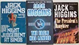 Lot of 3 Jack Higgins *Night Judgement At Sinos*the Eagle Has Landed*the Presidents Daughter* Action