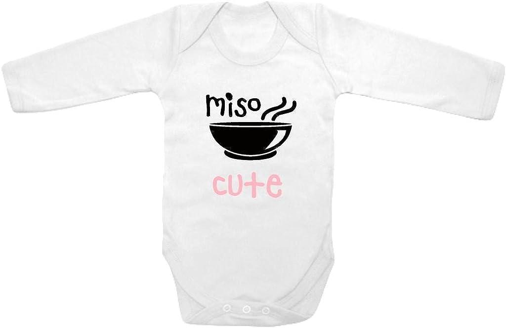 Baby Tee Zeit lange Sleeve Baby Girls' Font Miso Cute ein Piece