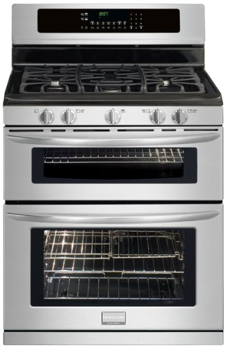 Frigidaire FGGF304DLF Gallery 30 Freestanding Gas Double Oven Range - Stainless Steel