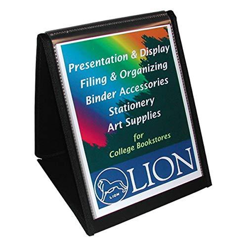 Wholesale CASE of 15 - Lion Flip-N-Tell Display Easel Books-Flip-N-Tell Vertical Easel, 11''x8-1/2'', Black by Lion