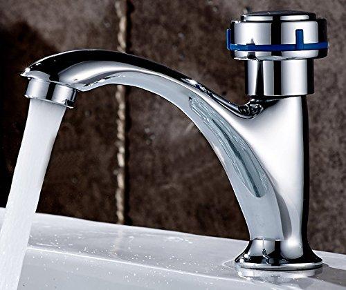 AWXJX Copper A Cold Basin Bath Wash Basin Ceramic Sink Mixer Tap Faucet by AWXJX Sink faucet
