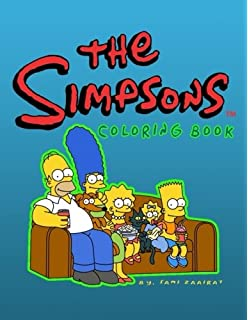 The Simpsons Colouring Book A great Simpsons colouring book for