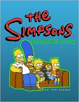 Amazon.com: The simpsons™: coloring book (9781544129846): sami ...