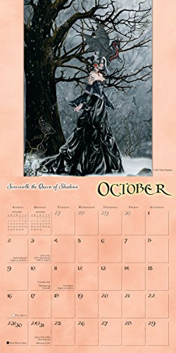 Calendar Mysteries May Magic : Dragon witches nene thomas wall calendar import it all