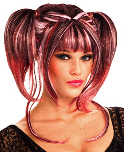 Pretty In Pigtail Wig (Forum Novelties Women's Pretty In Pigtails Wig, Multi, One Size)