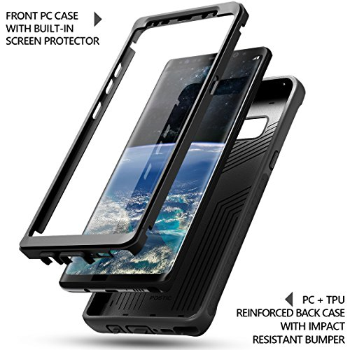 new arrival c159e 1350d Details about Galaxy Note 8 Case Full-Body 360 Degree 3D Curved  Built-in-Screen Protect Black