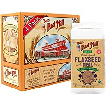Bob's Red Mill Organic Brown Flaxseed Meal, 16-ounce (Pack of 4) (Package May Vary)
