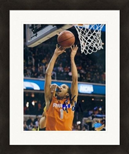 Autograph Warehouse 269880 Michael Carter Williams Autographed 8 x 10 in. Photo - Syracuse Orangemen Image - No. 2 Matted & Framed