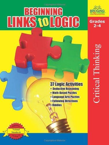 Read Online Beginning Links to Logic - Grades 2-4 PDF
