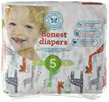 The Honest Company Disposable Diapers - Giraffe - Size 5-25 ct