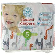 The Honest Company Disposable Diapers - Giraffe - Size 5 - 25 ct