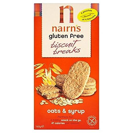 De Nairn Sin Gluten Galletas Breaks Avena y Jarabes 160g: Amazon.es: Hogar