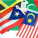200 World Country Flags International Banner by