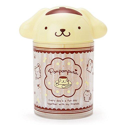 Sanrio Pomupomu pudding pudding-shaped cotton swab box From Japan New by Sanrio