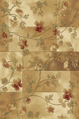 Central Oriental 1928IV81 Shadows Muse Ivory 7-Feet 10-Inch by 10-Feet 10-Inch Area Rug - Central Oriental Shadows