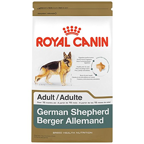 ROYAL CANIN BREED HEALTH NUTRITION German Shepherd Adult dry dog food, 30-Pound - Exclusively Pet Animal