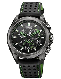 Citizen #AT7035-01E Men's Eco Drive Proximity Perpetual Calendar Chronograph IPhone Compatible Watch