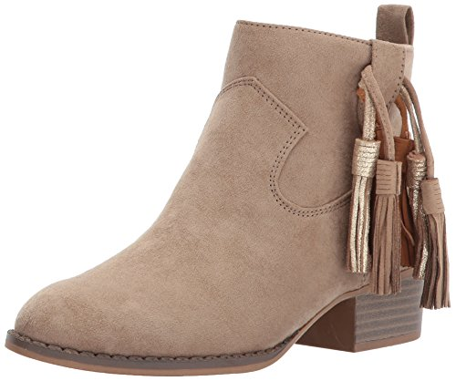 Dolce Vita Girls' Jemma Ankle Boot, Taupe Microsuede, 3 Medium US Little Kid -  JEMMA-260-3 Medium US Little Kid