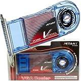 JetArt V-VGA-VC3600 - Set de ventilador de cobre para tarjeta gráfica ATI/Nvidia GF MX440/4200 FX5200-7800 ATI 9000-9700/X1300
