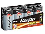 Health & Personal Care : Energizer Max Alkaline 9 Volt, 4-Count