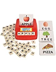 Literacy Fun Game Matching Letter Game, 60 Flash Cards English Word Spelling Memory Puzzle Board Sight Words Preschooler Language Learning Educational Toys