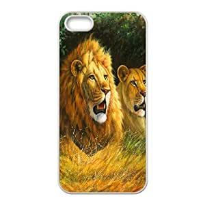 C-Y-F-CASE DIY Design Lion Pattern Phone Case For iPhone 5,5S