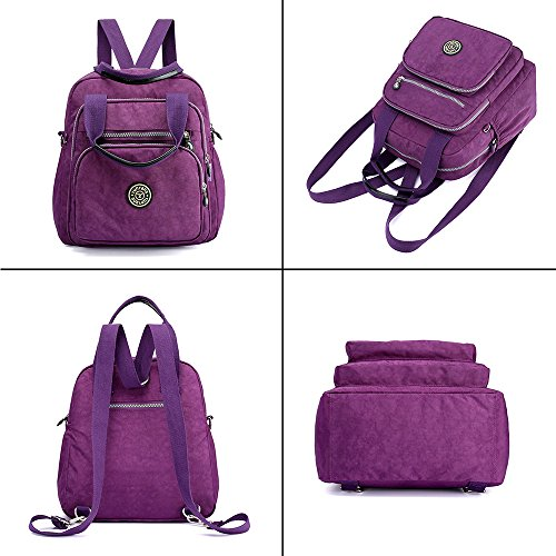 Lightweight Messenger black Mini Backpack Waterproof Girls Body Multifunction Casual Bag Daypack Nylon Handbag Women Cross 6002 Shoulder Nameblue Bags Eqw1BUPx
