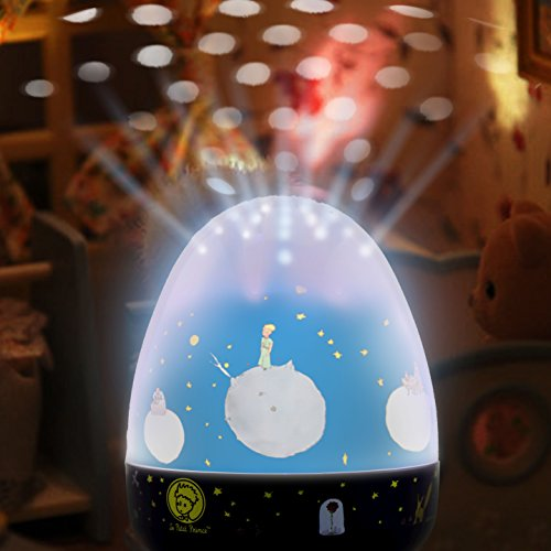 Le Petit Prince Merry-Go-Round, Rotational Theater Musical Sound Machine, Breast Feeding, Diaper Changing Night Light by Lumitusi