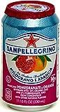 San Pellegrino Melograno E Arancia (Pomegranate and Orange) Case of 24 Cans 330ml by San Pellegrino