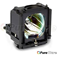 Pureglare 784020801,BP61-01195A,BP63-00670A,BP96-01472A TV Lamp for Samsung HLS4265W,HLS4266W,HLS4666W,HLS5065W,HLS5066W,HLS5086W,HLS5087W,HLS5088W,HLS5666W,HLS5686C,HLS5686W,HLS5687W,HLS5688W,HLS6165W,HLS6166W,HLS6167W,HLS6186W,HLS6187W,HLS6188W,HLS6767W,HLS7178W,HLT5055W,HLT6156W,HLT6756W,HLT7288W,PT50DL24,PT61DL34,RPT50V24D,SP50L6HD,SP56L5HR