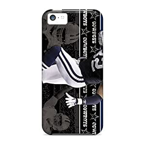 Durable Hard Phone Covers For Iphone 5c With Support Your Personal Customized Colorful Dallas Cowboys Series VIVIENRowland