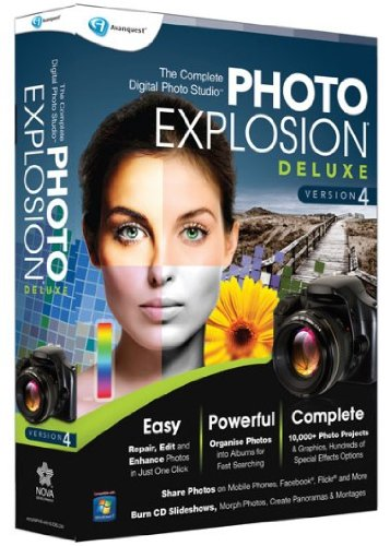 Dvd Albums Photo (Nova Development US Photo Explosion Deluxe 4.0 [Old Version])