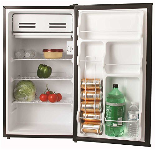 GARRISON REFRIGERATORS 2493167 3.3 Cu. ft. Energy Star Compact Refrigerator, Black by Garrison