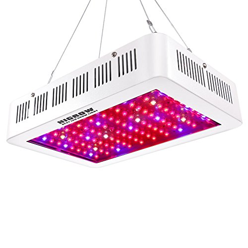 HIGROW 1000W Double Chips LED Grow Light Full Spectrum Grow Lamp with Rope Hanger for Indoor Greenhouse Hydroponic Plants Veg and Flower by HIGROW