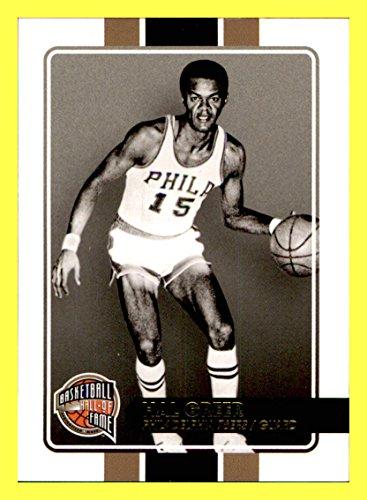 2009-10 Hall of Fame #32 Hal Greer PHILADELPHIA 76ers MARSHALL Serial #239/599