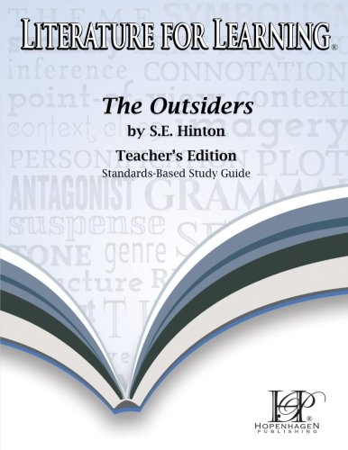 Literature for Learning The Outsiders Study Guide Teacher's Edition ebook