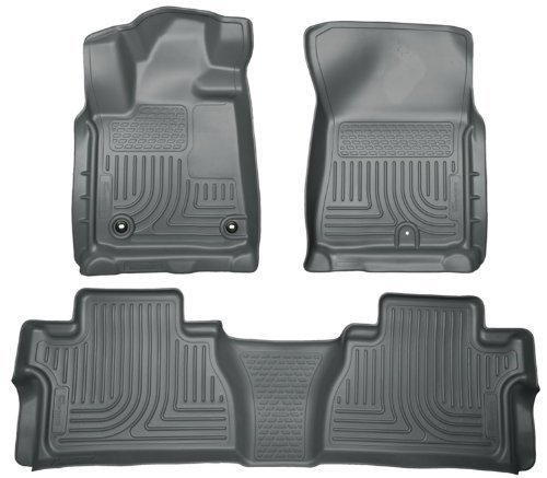(Husky Liners 99562 WeatherBeater Grey Front and 2nd Seat Floor Liner by Husky Liners)