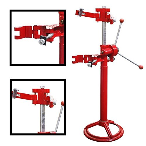 GHP 3-Knob Handle 8'' Max Diameter 20'' Max Height Hand Operated Strut Coil Compressor by Globe House Products (Image #1)