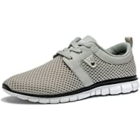 Tianui Walking Shoes Men Fashion Breathable Sneakers Casual Athletic Lightweight Outdoor Sports Shoes